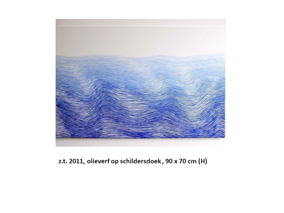 z.t. 2011, olieverf op schildersdoek, 90 x 70 cm (H)