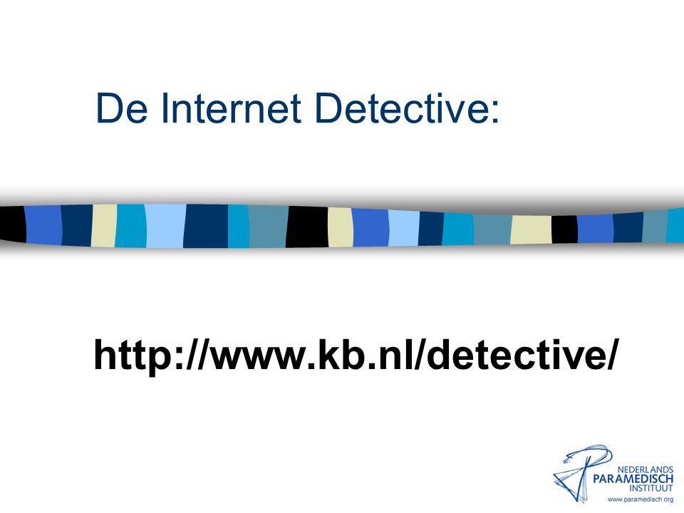 16 januari 2002 Nederlands Paramedisch Instituut