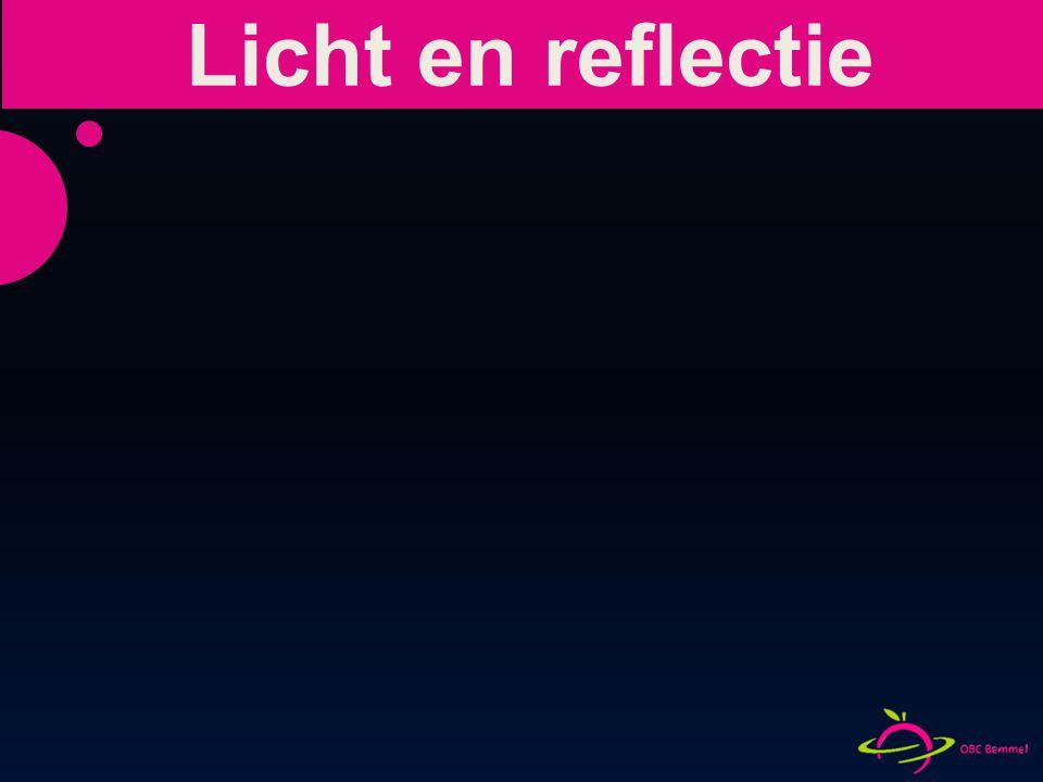 Licht en reflectie