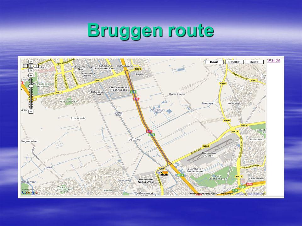 Volgen op kaart  Laatst gereden route