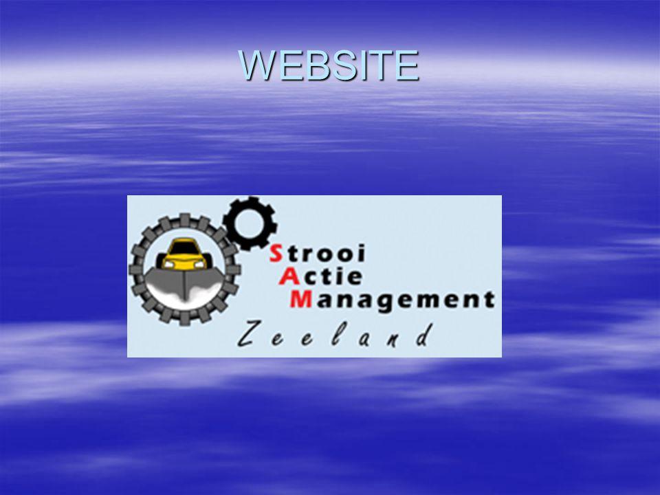 Data communicatie Data van de strooiers gaat naar de Gladheidmeldcentrale waar 500 strooiers op draaien Daarna wordt de data opgeslagen in de SQL server en wordt door gegeven aan de Web-server.