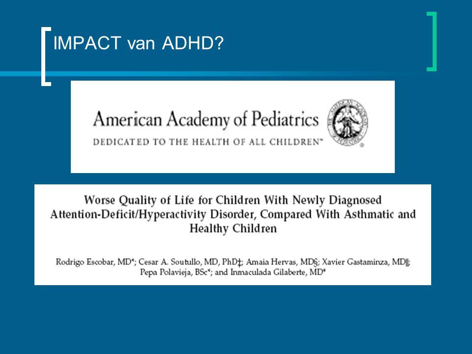 IMPACT van ADHD?