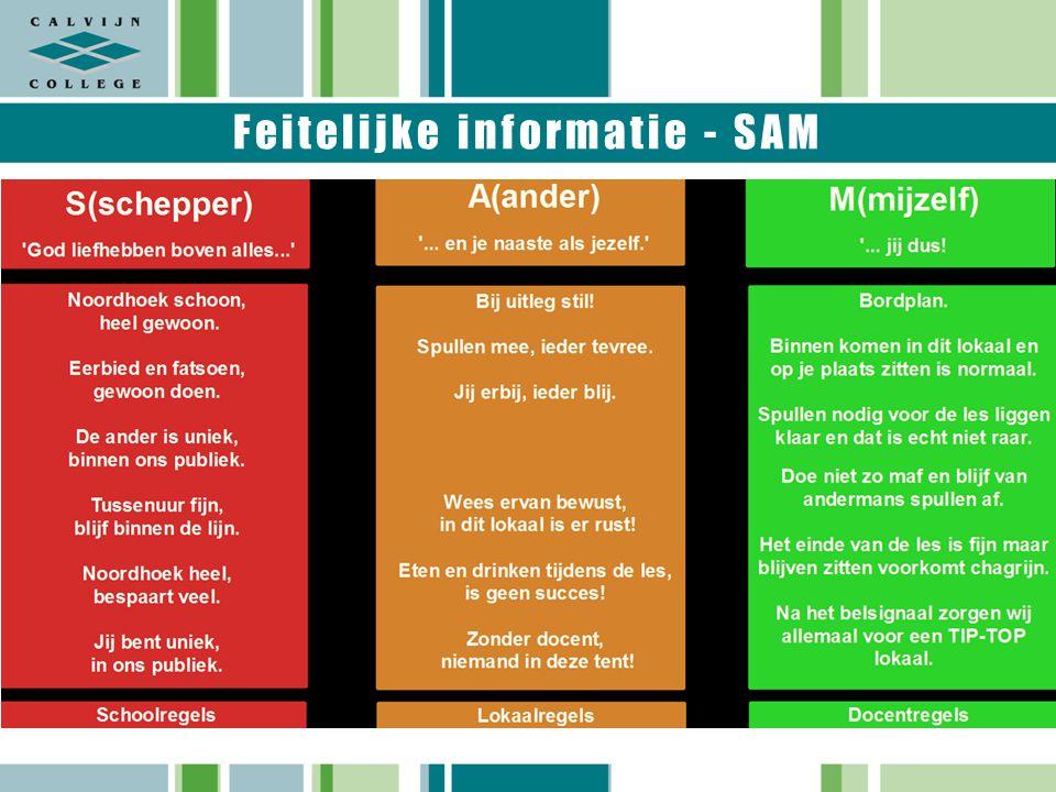 Feitelijke informatie - SAM