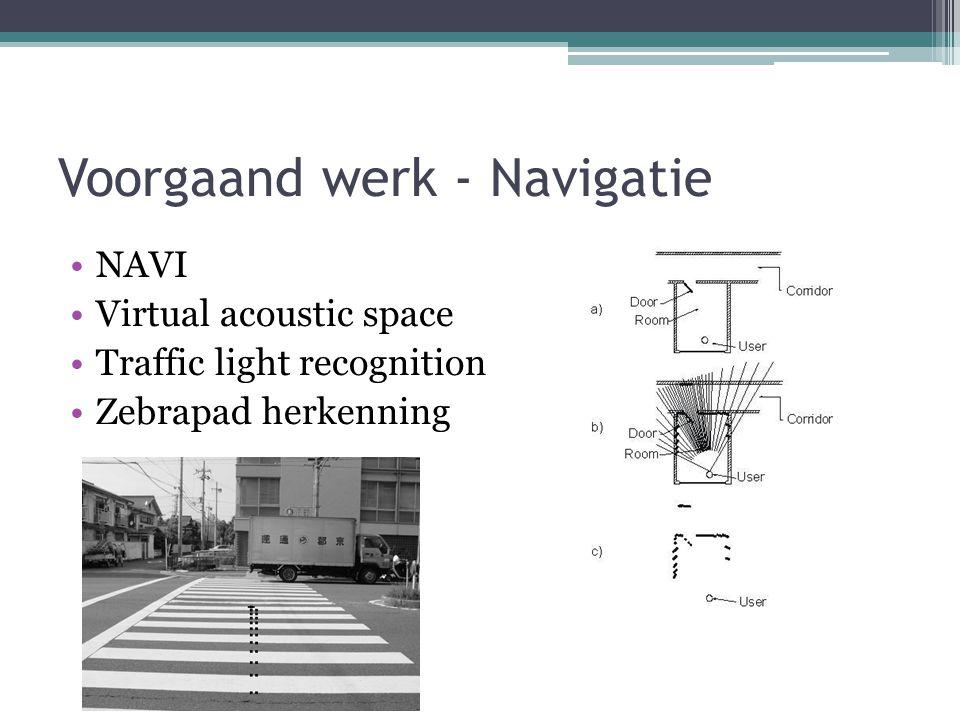 Voorgaand werk – Afbeeldingen, tekst, diagrammen iCare TeDUB Perception of pictures without graphical interface