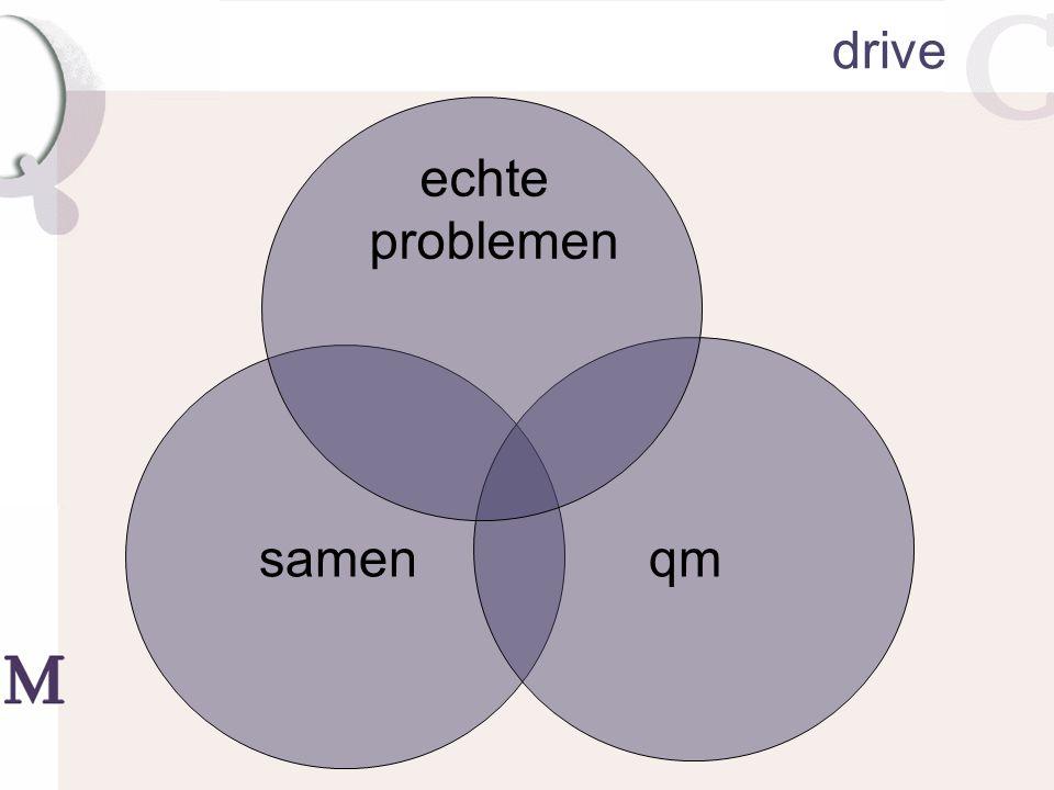 drive qm echte problemen samen