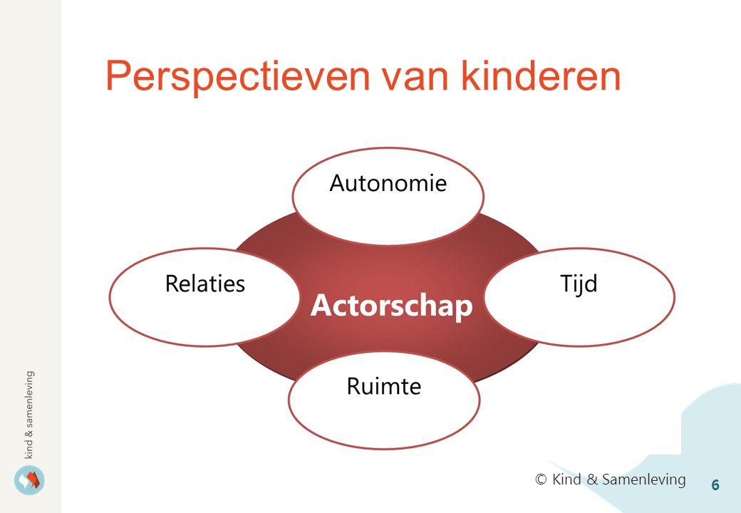 Perspectieven van kinderen 6 © Kind & Samenleving