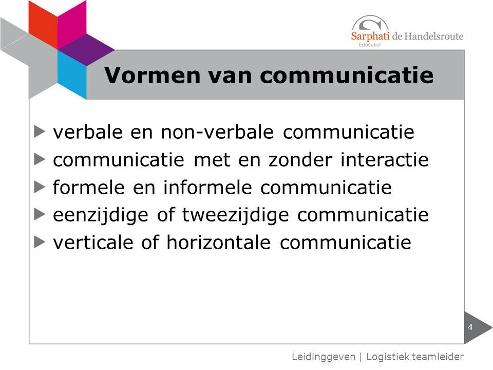 verbale en non-verbale communicatie communicatie met en zonder interactie formele en informele communicatie eenzijdige of tweezijdige communicatie ver