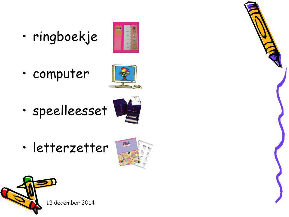 ringboekje computer speelleesset letterzetter 12 december 2014