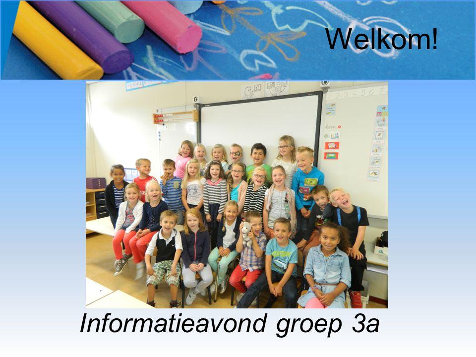 Welkom! Informatieavond groep 3a