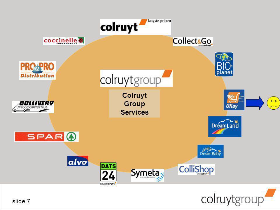 slide 7 Colruyt Group Services