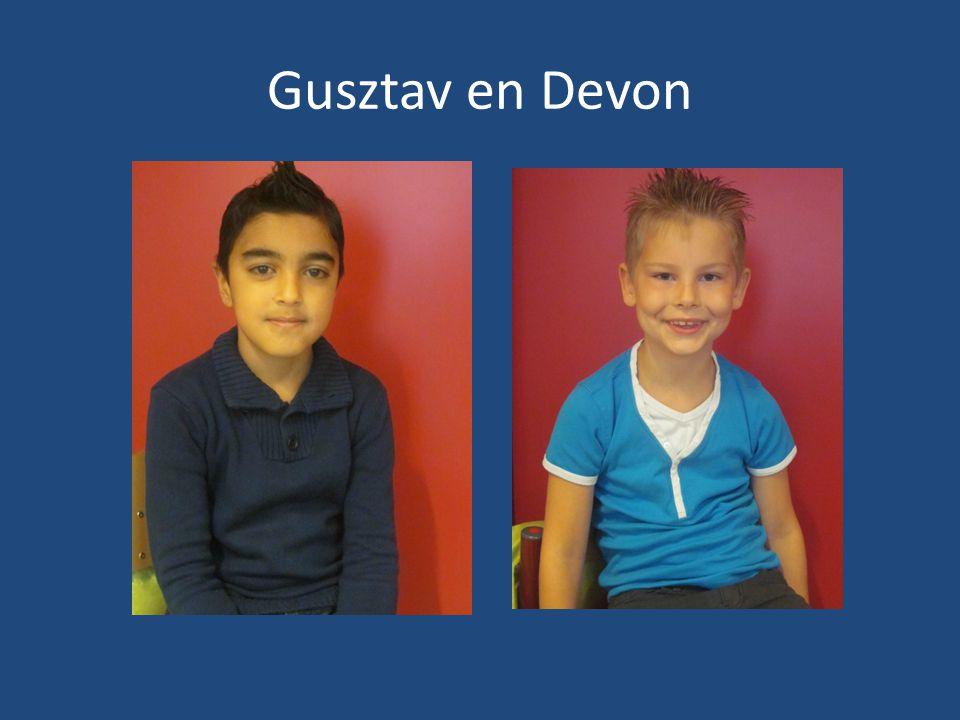 Gusztav en Devon