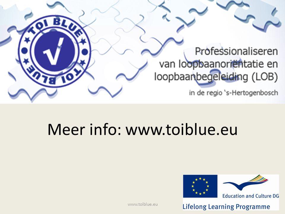 Meer info: www.toiblue.eu www.toiblue.eu