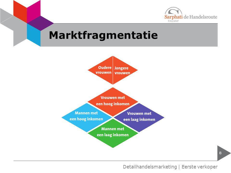 Marktfragmentatie 8 Detailhandelsmarketing | Eerste verkoper