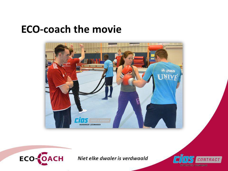 Niet elke dwaler is verdwaald ECO-coach the movie