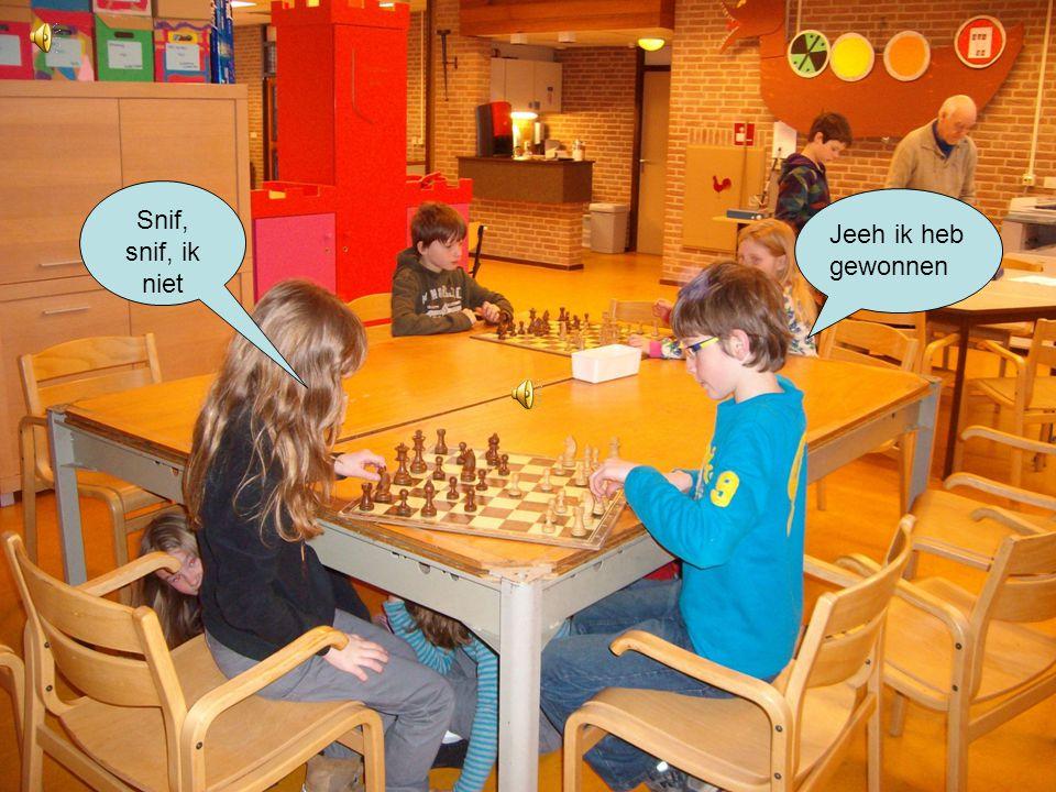 Wij leren vandaag schaken