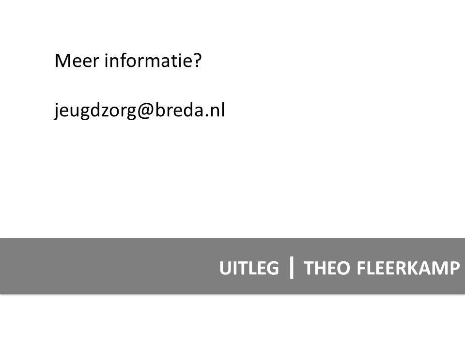 UITLEG | THEO FLEERKAMP Meer informatie? jeugdzorg@breda.nl