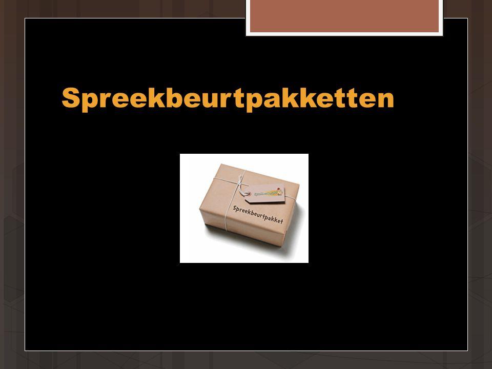 Spreekbeurtpakketten