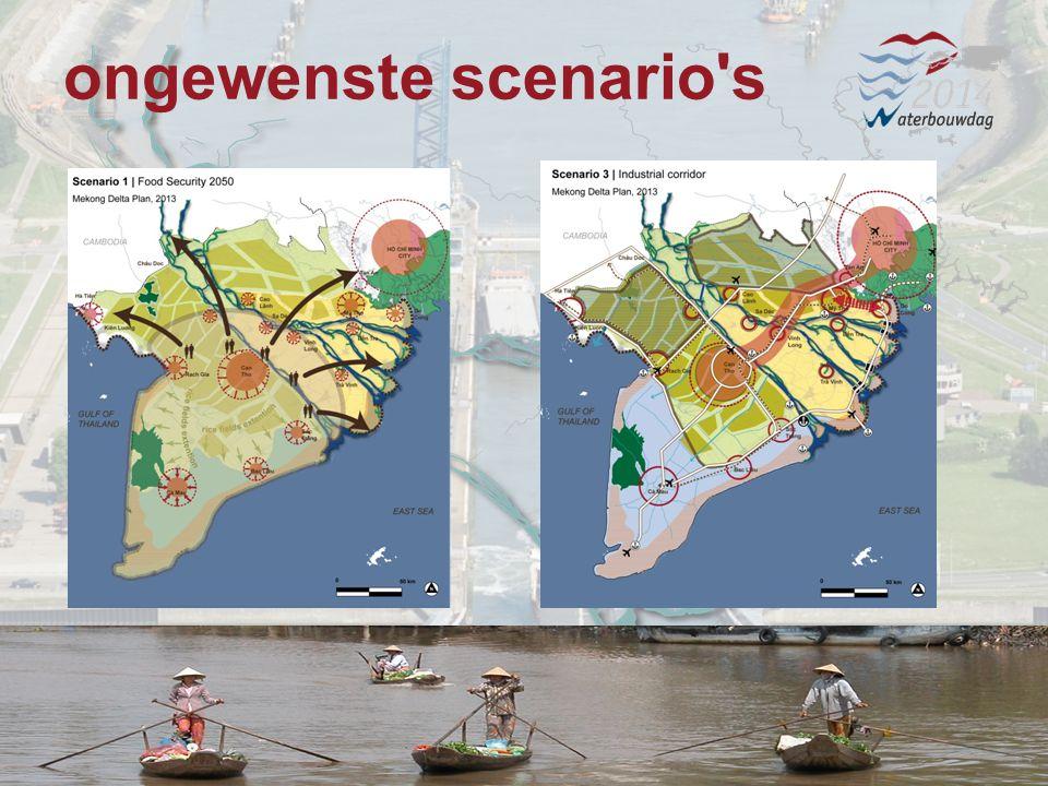 13 november 20147 Waterbouwen en onderhouden 13 november 20147 Waterbouwen en onderhouden 13 november 20147 Waterbouwen en onderhouden ongewenste scenario s