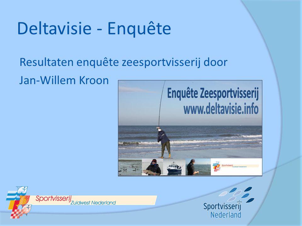 Deltavisie - Enquête Resultaten enquête zeesportvisserij door Jan-Willem Kroon