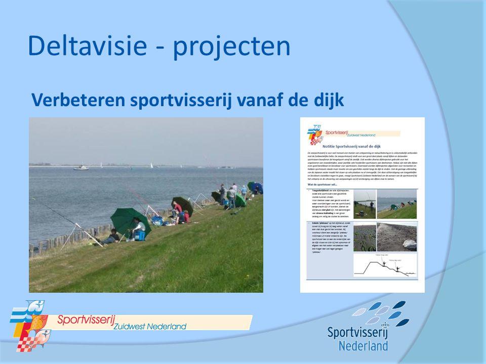 Deltavisie - projecten Verbeteren sportvisserij vanaf de dijk