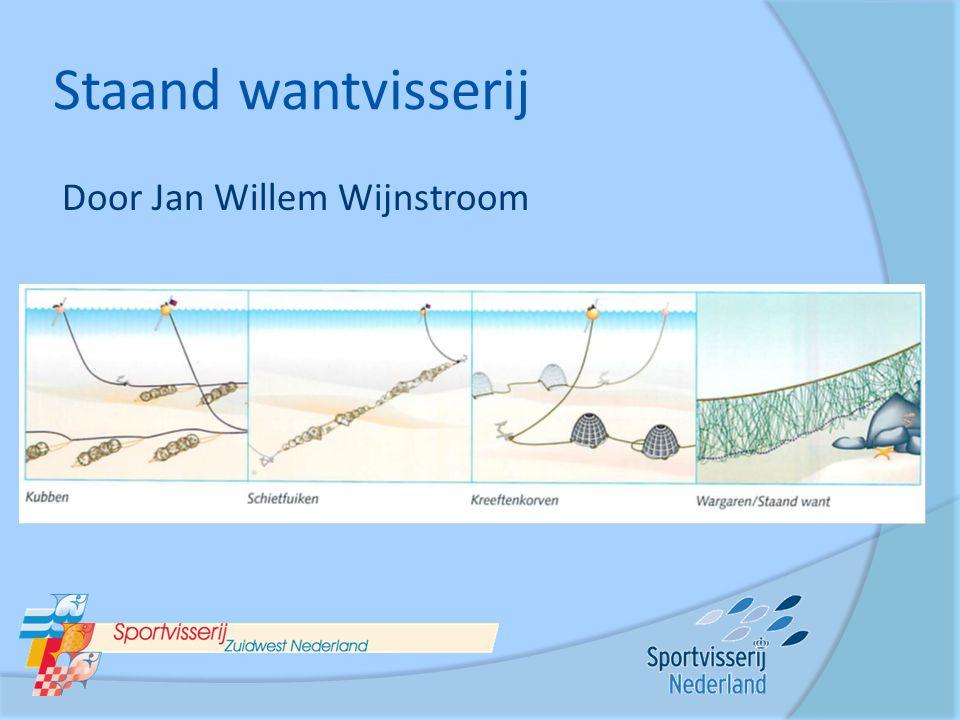 Staand wantvisserij Door Jan Willem Wijnstroom