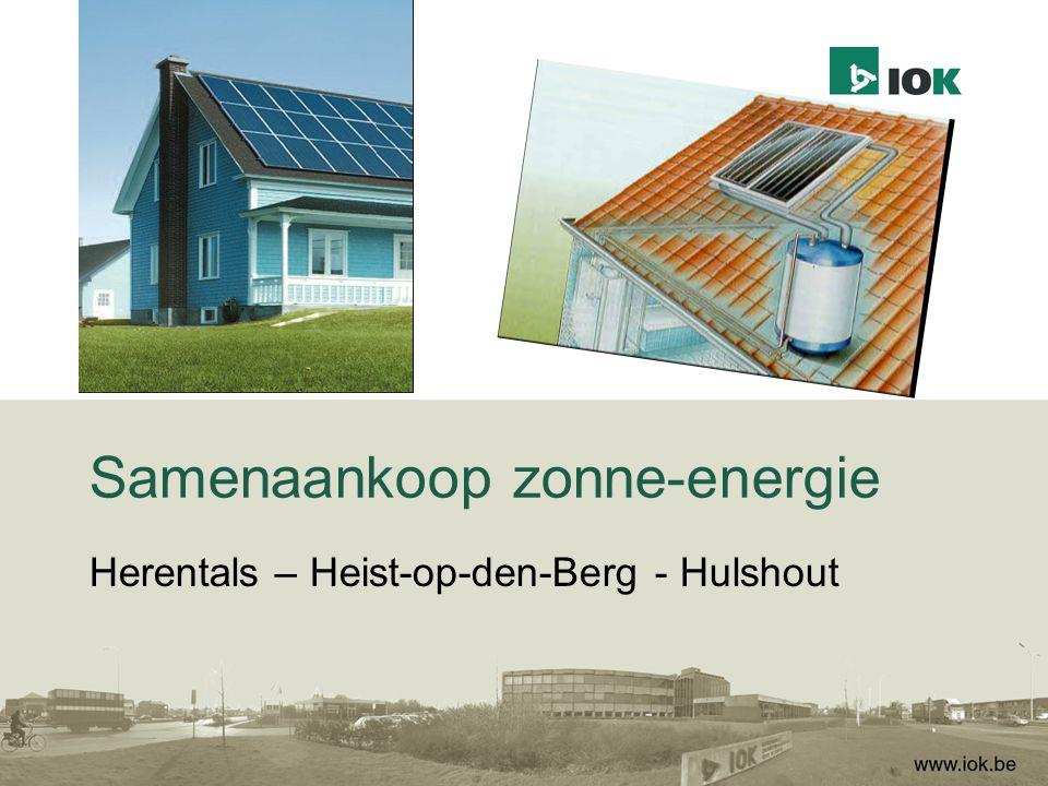Samenaankoop zonne-energie Herentals – Heist-op-den-Berg - Hulshout