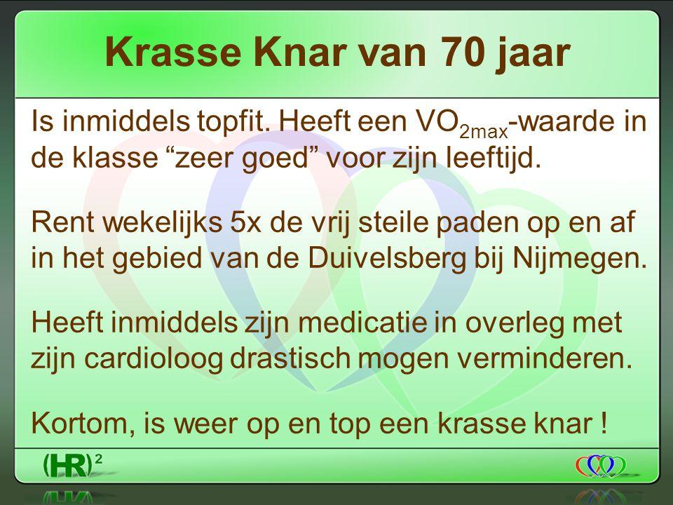 Krasse Knar van 70 jaar Is inmiddels topfit.