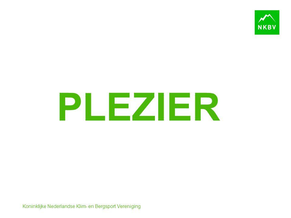 Koninklijke Nederlandse Klim- en Bergsport Vereniging PLEZIER