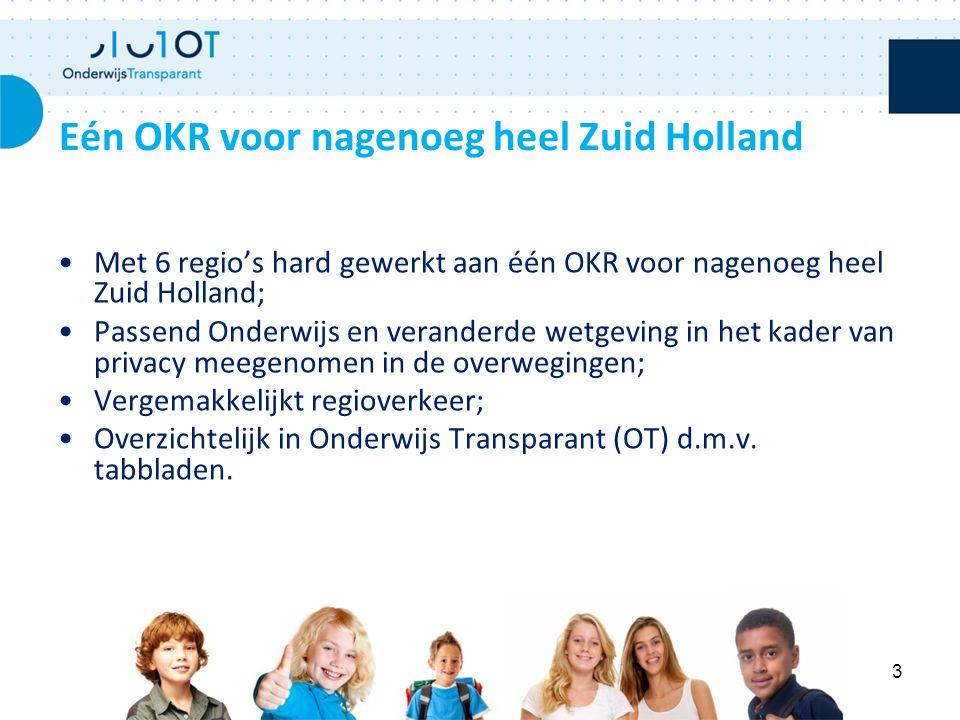 Met 6 regio's hard gewerkt aan één OKR voor nagenoeg heel Zuid Holland; Passend Onderwijs en veranderde wetgeving in het kader van privacy meegenomen