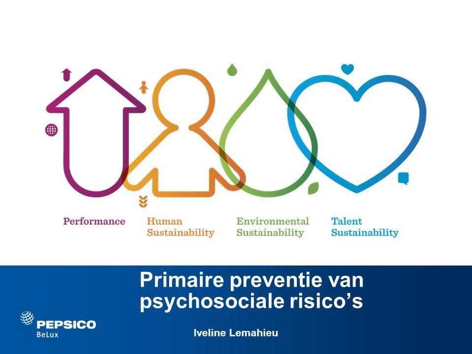 Primaire preventie van psychosociale risico's Iveline Lemahieu