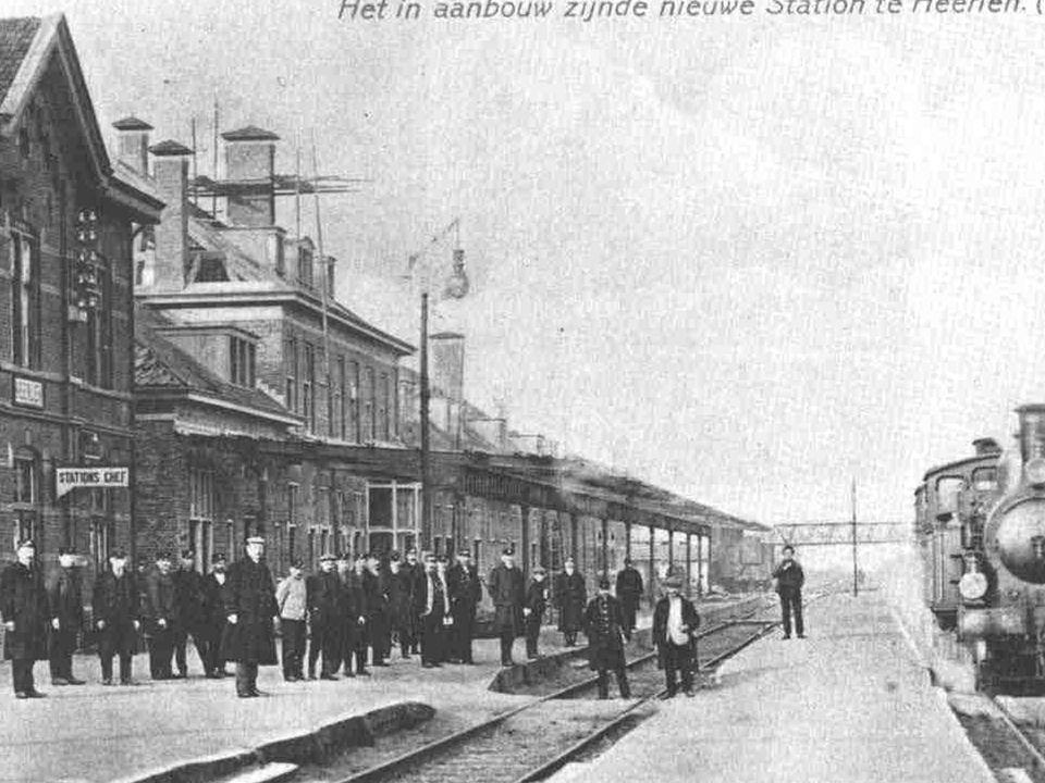 De Valkenburgerweg was ook in 1915 al een van Heerlense grotere in- en uitvalswegen.