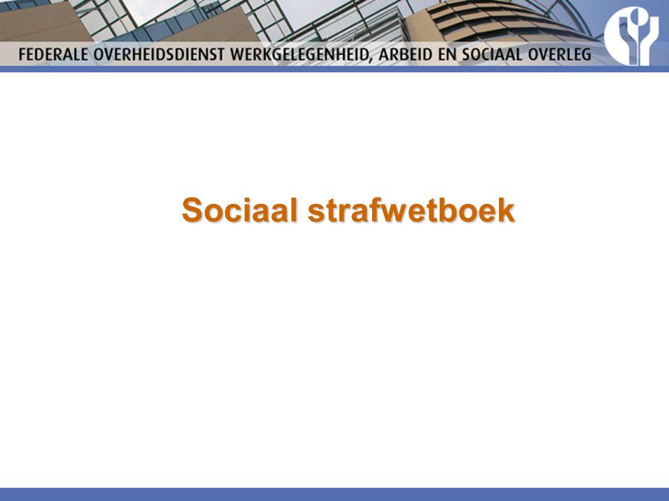 Sociaal strafwetboek