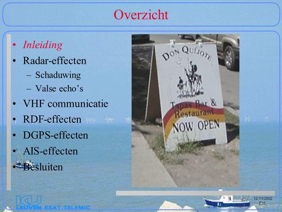 12/11/2002 EVL Dankwoord BET-SRK= Beheer- en ExploitatieTeam van de ScheldeRadarKeten (ir.
