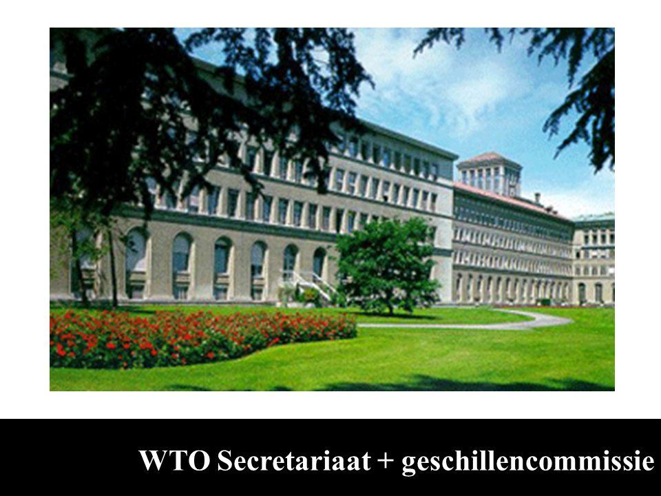 WTO Secretariaat + geschillencommissie