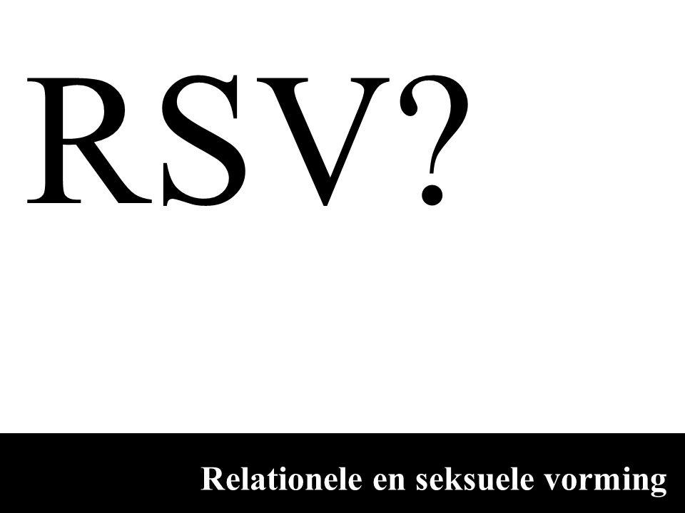 Relationele en seksuele vorming RSV?