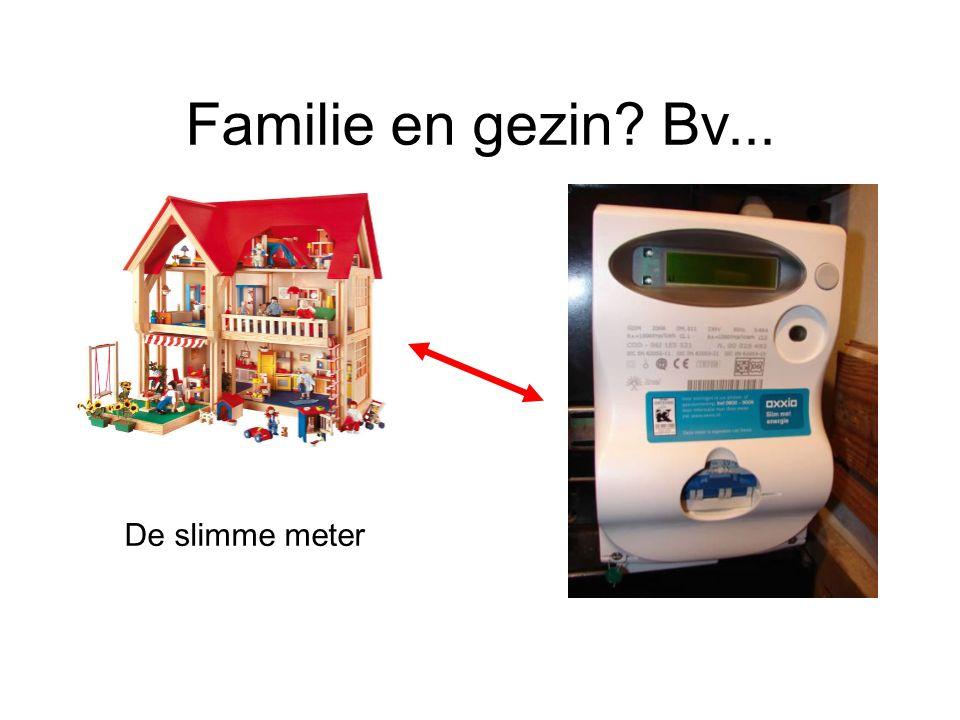 Familie en gezin Bv... De slimme meter