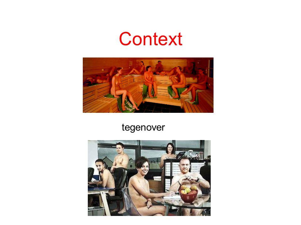 Context tegenover