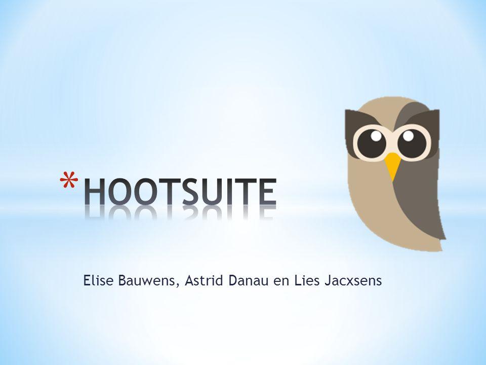 Elise Bauwens, Astrid Danau en Lies Jacxsens