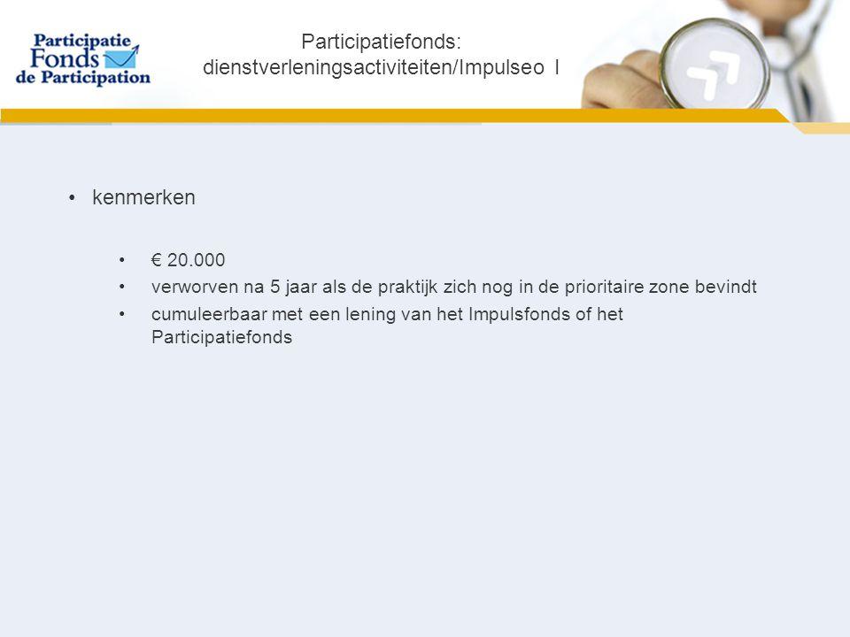 Initio: Context Initio  antwoord van de federale overheid op de kredietbehoefte van KMO's in België  complementair aan de bestaande producten van het Participatiefonds  omgekeerde indieningsprocedure