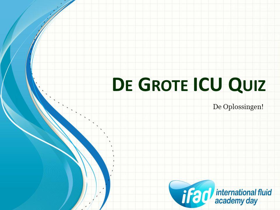 D E G ROTE ICU Q UIZ De Ventilator in Alarm Dr. Pieter Monballyu Internist-Intensivist AZ KLINA