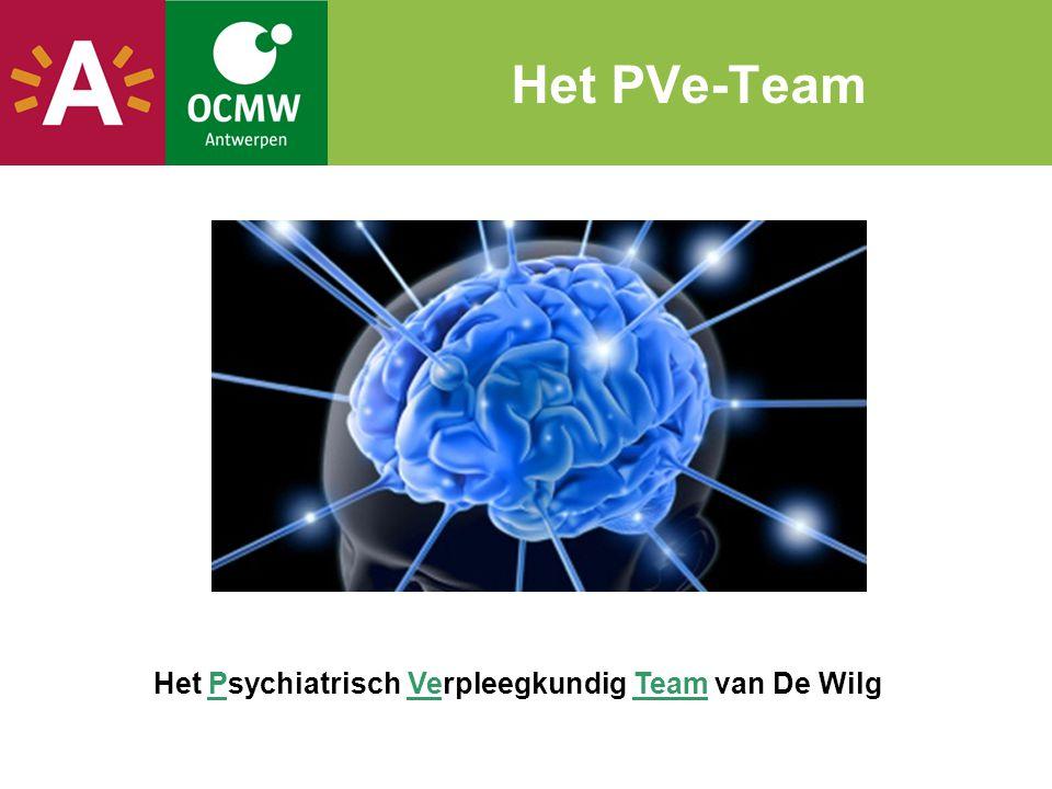 PVe-team De missie Missie van het PVe-team Als gespecialiseerd team van psychiatrisch verpleegkundigen garanderen wij ondersteuning naar klanten met een vermoeden van psychische kwetsbaarheid, de begeleidende hulpverleners en de omgeving van de klant.