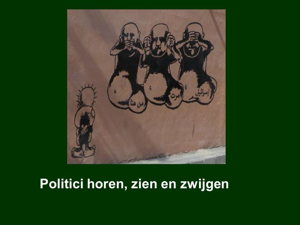 Politici horen, zien en zwijgen