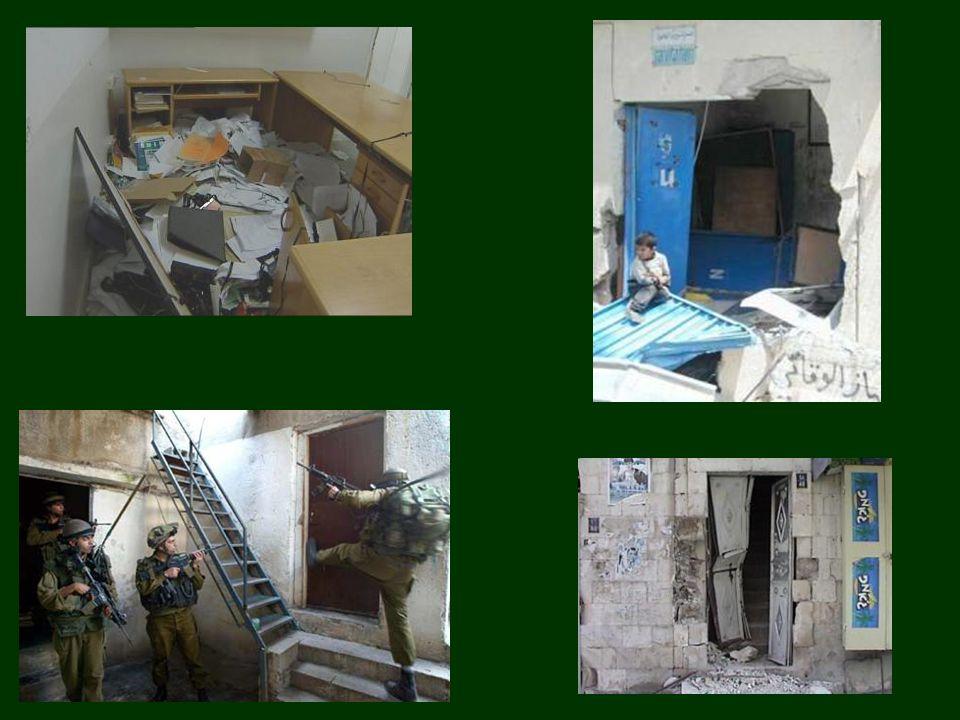 16 mei 2008: vernielde het Israëlische leger in 4 uur een kippenkwekerij van Nasser Jaber: 18 jaar werk, 40.000 kippen Mohammed Abu Daggah s cement fabriek http://www.pchrgaza.org Middelen van bestaan vernielen