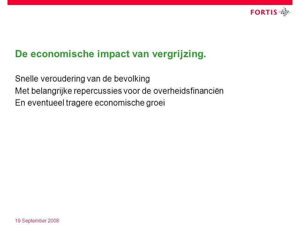 De economische impact van vergrijzing.