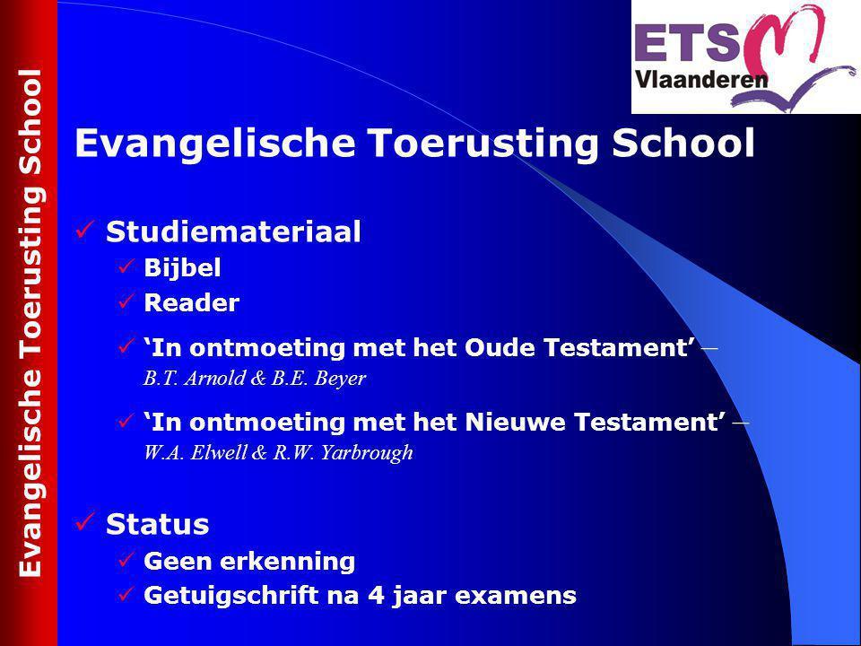Be.EQUIPped op 2 locaties vanaf september 2009: Evangelische Kerk te Zwijnaarde en Evangelische Kerk te Brasschaat