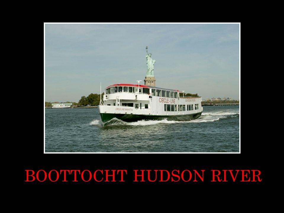 BOOTTOCHT HUDSON RIVER