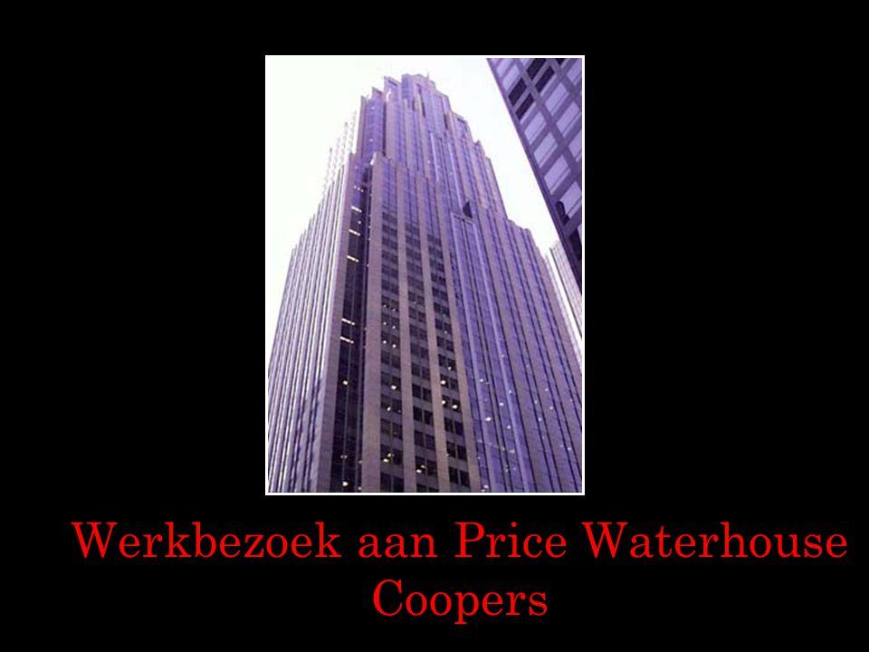 Werkbezoek aan Price Waterhouse Coopers