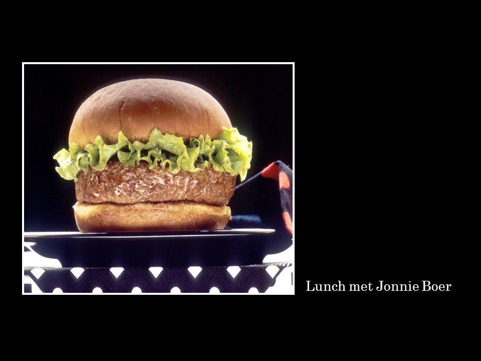 Lunch met Jonnie Boer