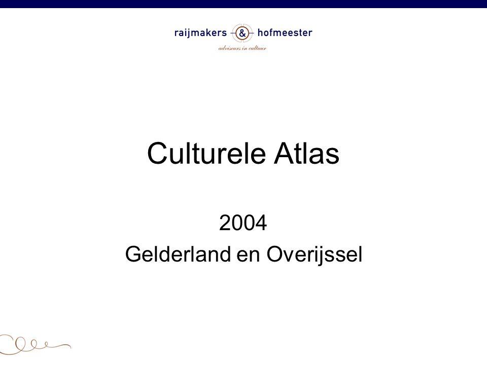 Culturele Atlas 2004 Gelderland en Overijssel