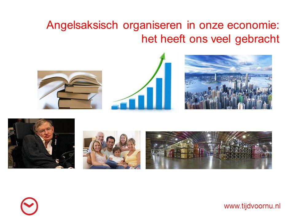 Angelsaksisch organiseren in onze economie: het heeft ons veel gebracht www.tijdvoornu.nl